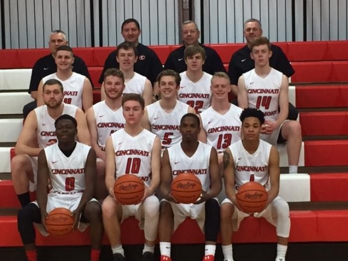 UC Clermont Men's Basketball Team