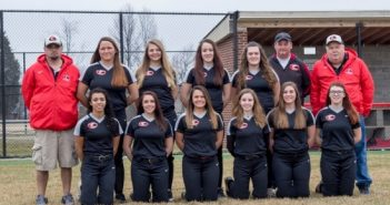 Lady Cougars Softball team 2017