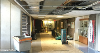 Photo of renovations